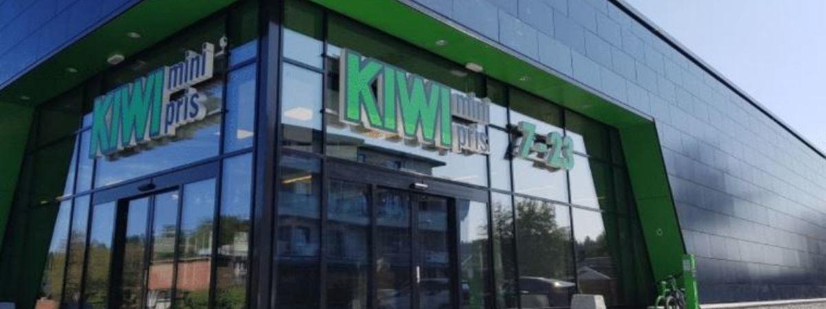 Norges grønneste butikk - Kiwi Dalgård